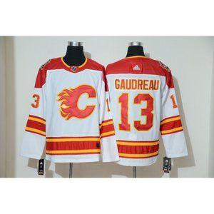 Calgary Flames Johnny Gaudreau Jersey (3)